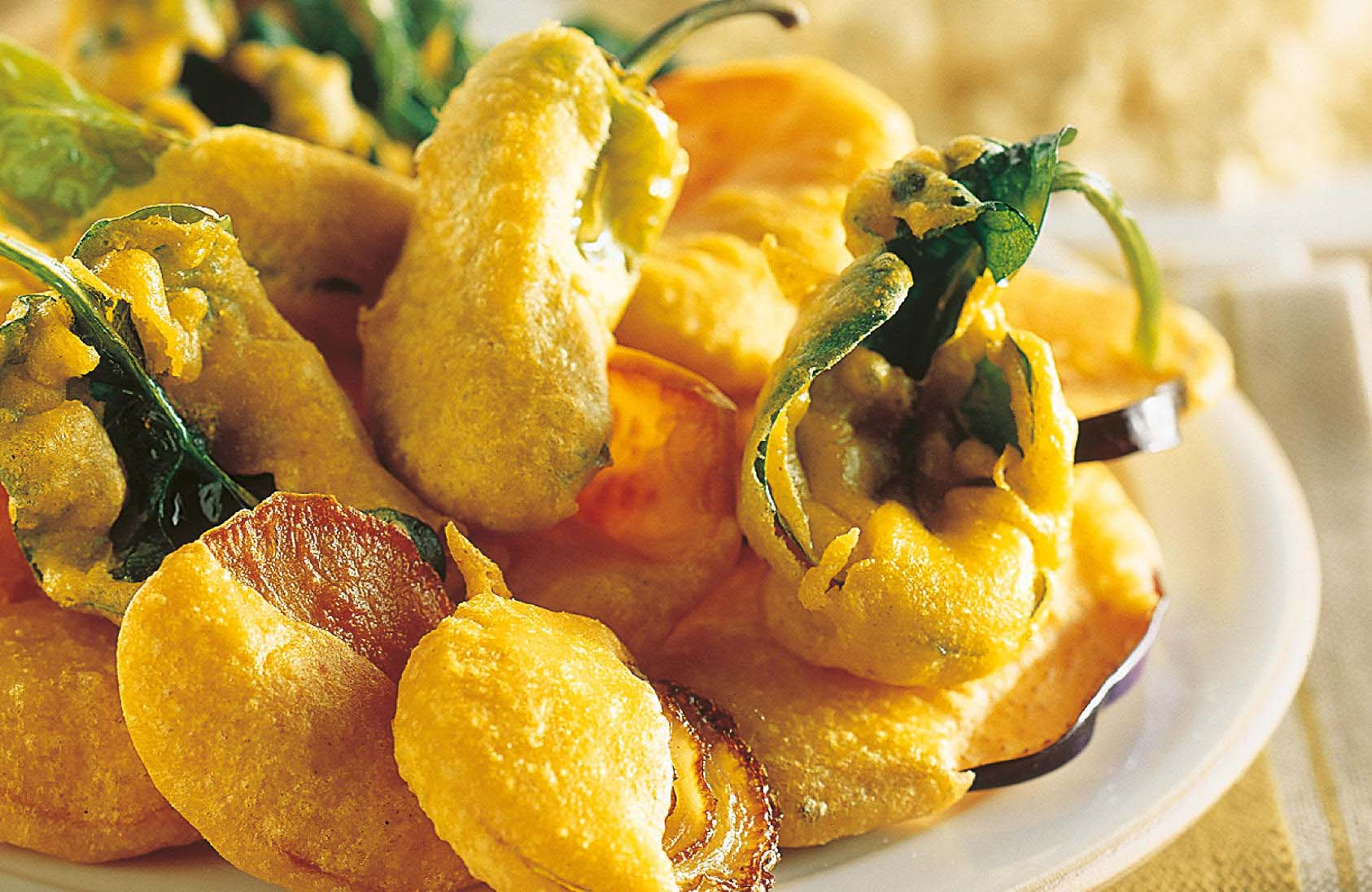 Battered Vegetables: Salento Traditional Appetizers - Corte Micali Pizza Restaurant in Martano