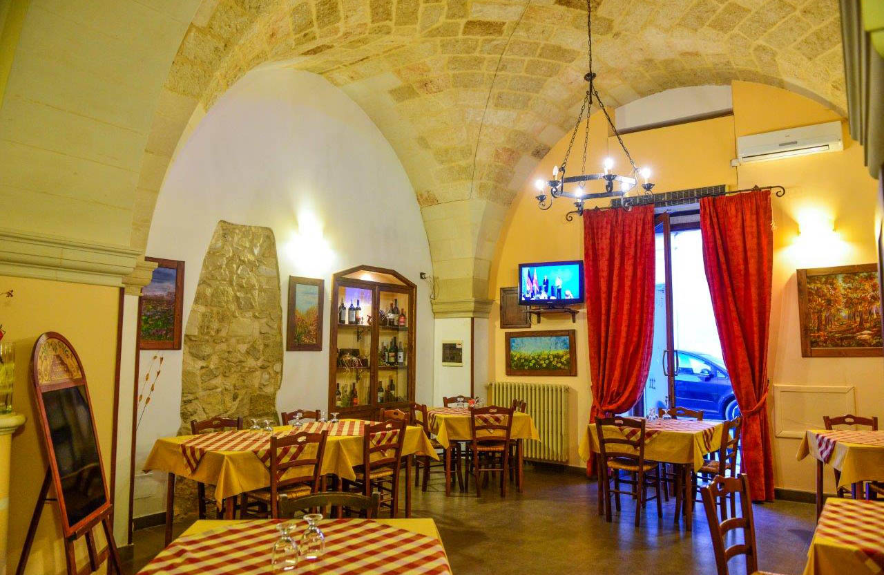 Corte Micali Pizza Restaurant's Interior Hall in Martano